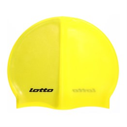Lotto M6883 Swim Cap Silikon Bone - Sarı